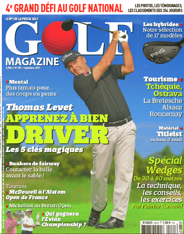 J&Joy dans Golf Magazine, septembre 13