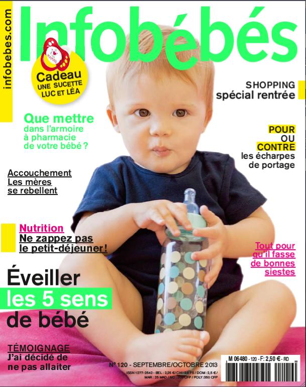Collégien dans Info bébé, septembre 1