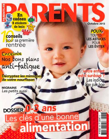 Collégien dans le magazine Parents