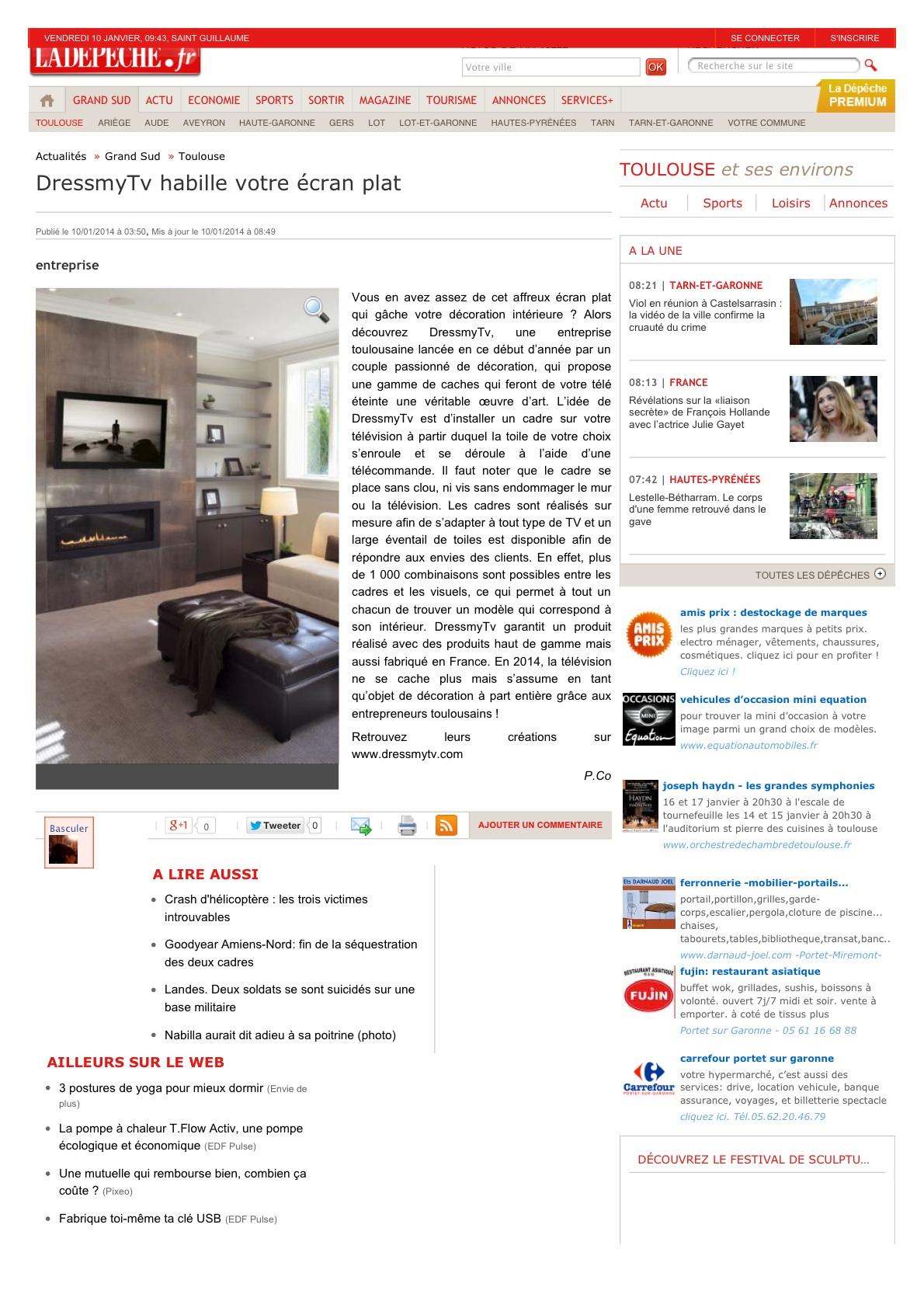DressmyTv -LaDépêche.fr